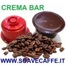 110 CAPSULE PER CAFFIT. CAFFE' CREMOSO CREMA BAR. INTENSITA'' 09