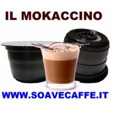 30 CAPSULE PER CAFFIT. MOKACCINO (Caffè, latte e cioccolato)