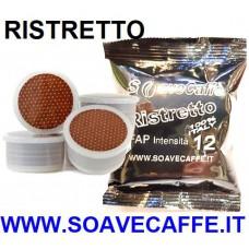 100 CAPSULE POINT/FAP CAFFE' RISTRETTO. INTENSITA' 12